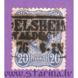 Daily stamp (imperial eagle, crown)