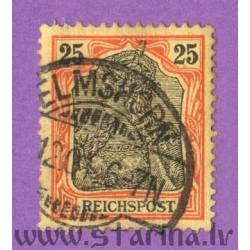 "Germania. Inscription ""Reichspost"""