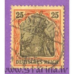 """Germania. Inscription """"Deutsches Reich"""""""